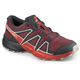 Salomon Speedcross Shoes Kids red dahlia/cherry tomato/vanilla ice